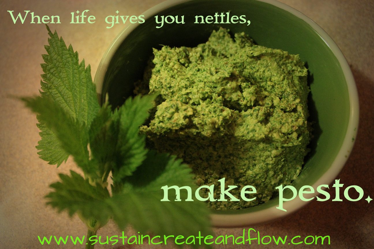 Nettle Pesto - Sustain, Create and Flow