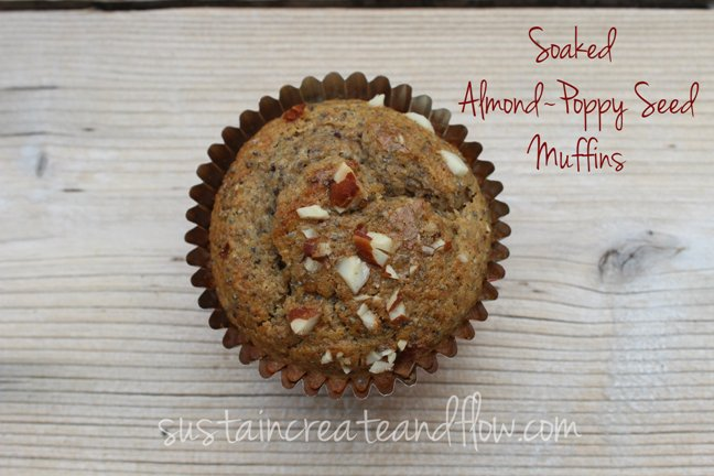 Soaked-Almond-Poppy-Seed-Muffins