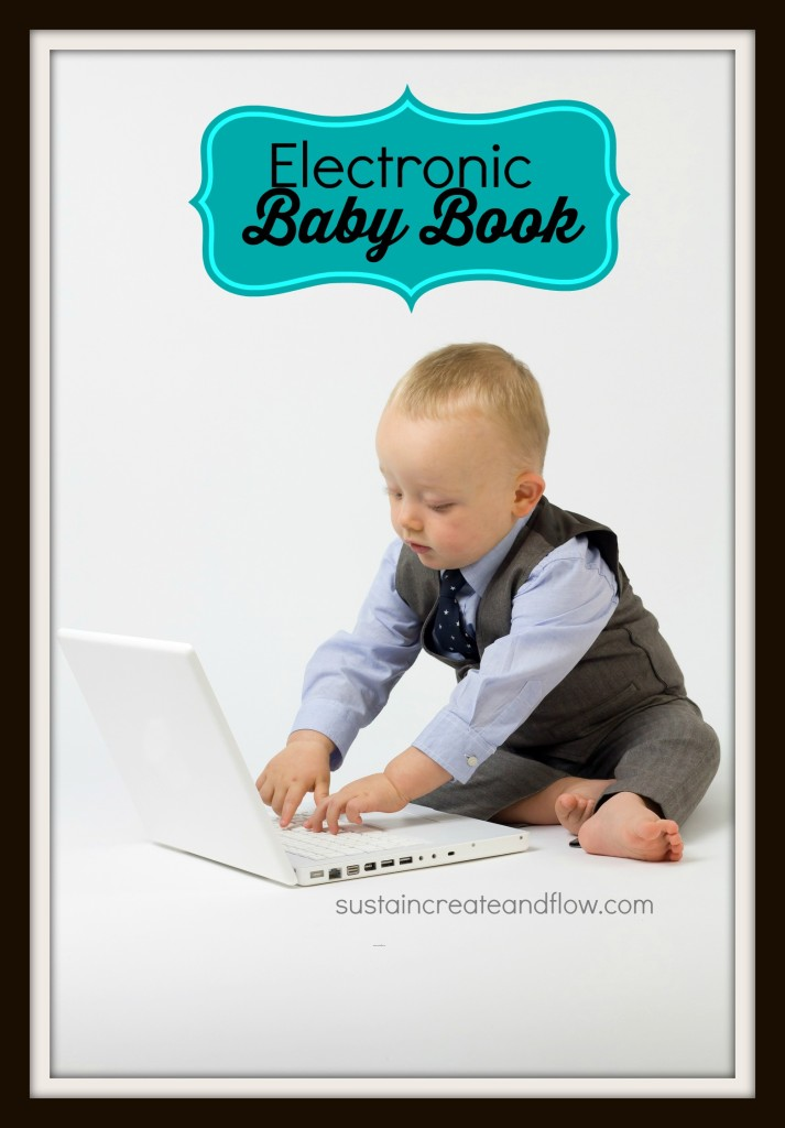 Electronic-baby-book